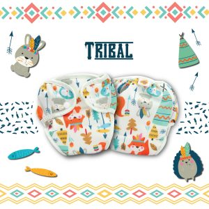 Paw Paw Diaper - Tribal Print