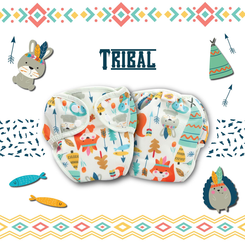Paw Paw Diaper - Tribal Print