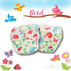 Paw Paw Diaper - Bird Print