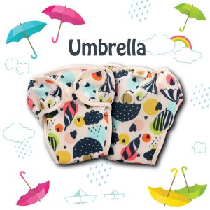Paw Paw Diaper - Umbrella Print